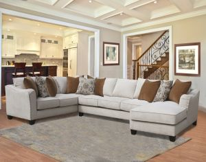 Adele Custom Made Sectional - 3 Color Choices
