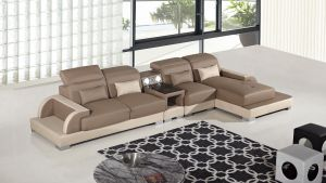 Miramar 4 Pc Modern Faux Leather Sectional - 3 Color Choices
