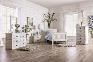 Rockwall Youth Bedroom Collection - Weathered White or Gray