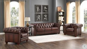 Kennedy Sofa Collection - Top Grain Leather