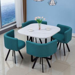 Ashley 5 Pc Dining Collection - Green or Black Chairs