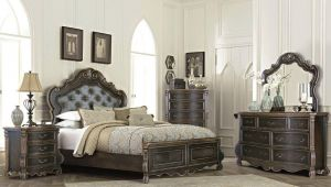 Modus Bedroom Collection - Marble Top Case Goods