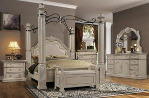 Cheval Blanc Canopy Bedroom Collection - Fit for a King