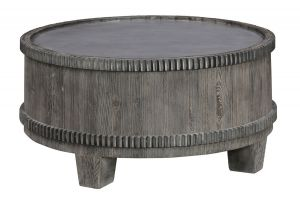 Penelope Round Coffee Table - Solid Wood