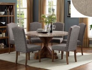 Vespa 5-7-9 Pc Dining Collection - Round Marble Table