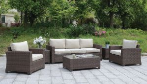 Brindsmade 6 Pc Patio Set - Brown or Gray