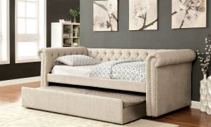 Leanna Twin Daybed + Trundle - 3 Colors