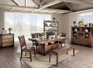 Wichita Dining Collection - Rustic Style