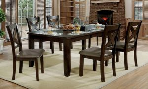 Josie Transitional Dining Collection - Extension Leaf
