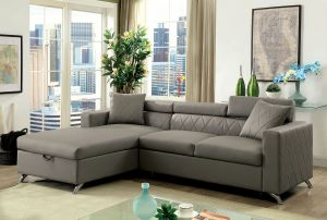 Dayna Modern Sectional w/Pull Out Bed