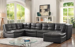 Libbie Modular Sectional Collection - Breathable Leatherette