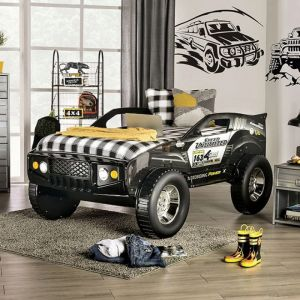 Speed Jump Twin Bed - Off Road Car Design