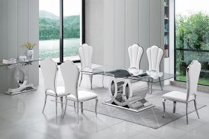 Gotham Dining Collection - Silver or Gold