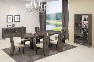 Belize 7 Pc Dining Collection - Gray Finish