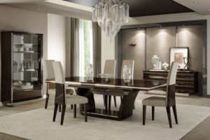 Prego Dining Collection - Wenge Finish