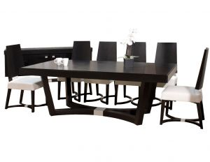 Devo Wenge Finish Dining Collection - Exquisite Modern