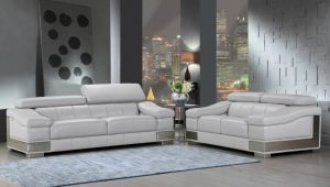 Domani Sofa Collection - Italian Leather