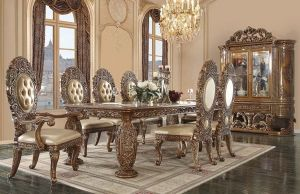 Constantine Dining Collection - Ornate Scrollwork