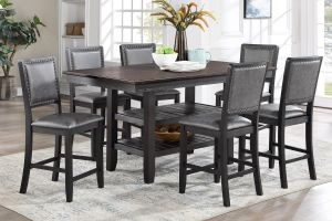 Amarillo 7 Pc Dining Collection  - Upholstered Chairs