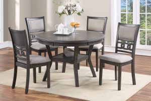 Culver 5 Pc Dining Collection - Grey or Walnut Finish