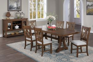 Juneau 7 Pc Dining Collection - White or Espresso