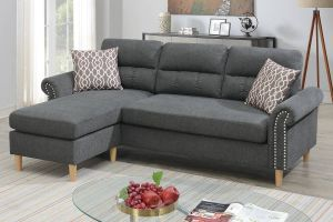Laredo 2 Pc Reversible Sectional - 3 Color Options