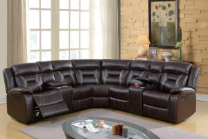 Carlton Motion Sectional - Dark Brown or Grey