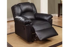 Rocker Recliner Black (F6673)