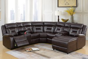 Manhattan Motion Sectional Collection - Brown or Gray