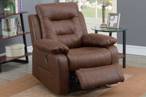 Power Recliner w/USB Charger - 3 Colors