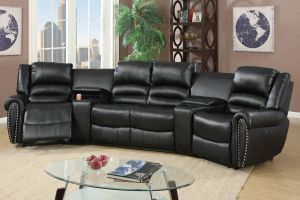 Yuma Power Motion Sectional - Black or Brown