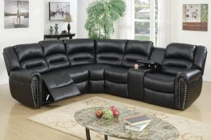 Amarillo Power Motion Sectional - Black or Brown