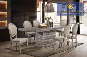 Fiona Transitional Dining Collection - Mocha Finish