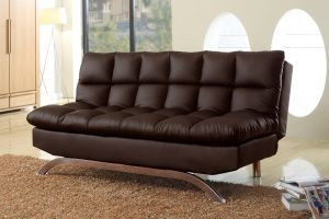 Click Clack Sofa Bed - Brown or Black