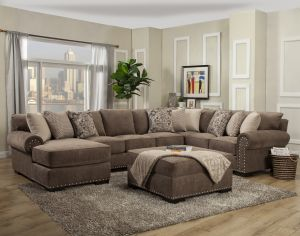 Harley Oversize Sectional - 3 Color Choices