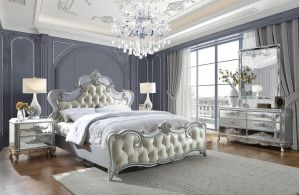 Marco Luna Silver Bedroom Collection - Opulent !