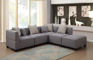 Holly 5 Pc Modular Sectional - Modern Look