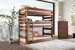 Pollyanna Twin - Triple Decker Bunk Bed