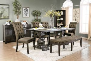 Nerissa Dining Collection - Gray Chairs