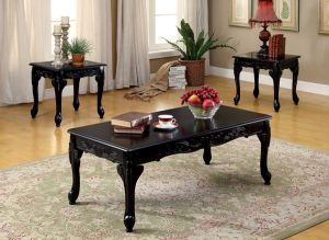 Cheshire 3 Pc Occasional Set - Black