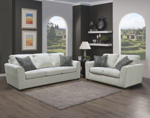 Liberty Sofa Collection - Moonstone Chenille