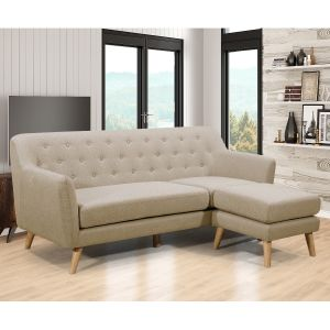 Maison Reversible Sectional - Beige or Grey