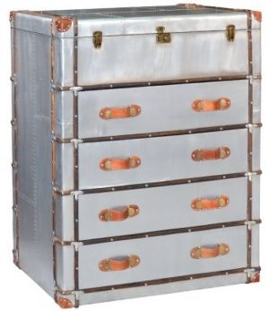 Aviator 4 Drawer Chest - Top Opens