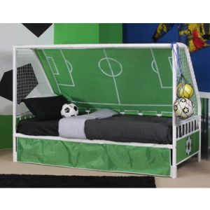 Goal Keeper Daybed - White Metal Finish