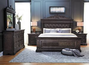 Bedford Heights Bedroom Collection - Tufted Headboard