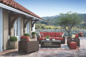 Meadowtown 4 Pc Outdoor Seating Set