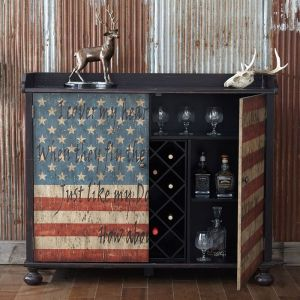 Banner Bar & Wine Storage by Pulaski