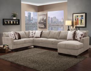 Pompei Oversize Sectional - 3 Color Choices