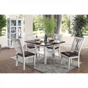 Rae 5 Pc Dining Set w/Drop Down Leaves