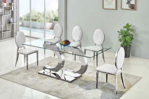 Tustin Dining Collection - Silver or Gold Finish